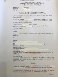JUGEMENT DE RELAXE : CONDUITE SANS PERMIS DE CONDUIRE