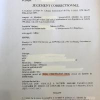 Jugement conduite sans permis